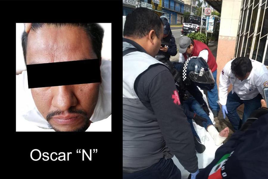 Violenta mañana en Xalapa, balean a hombre en 20 de Noviembre