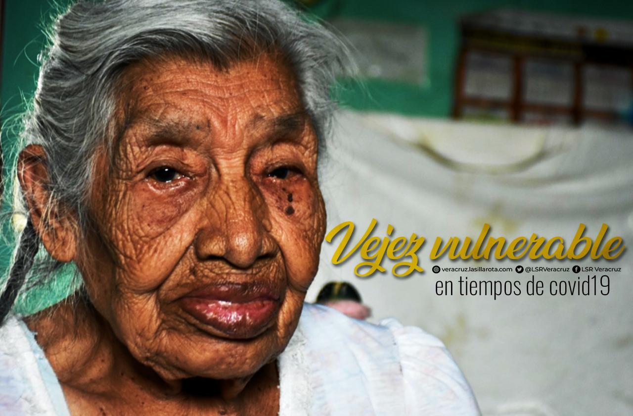 Con 85 años, Rosario pasa la cuarentena en hogar a punto del colapso