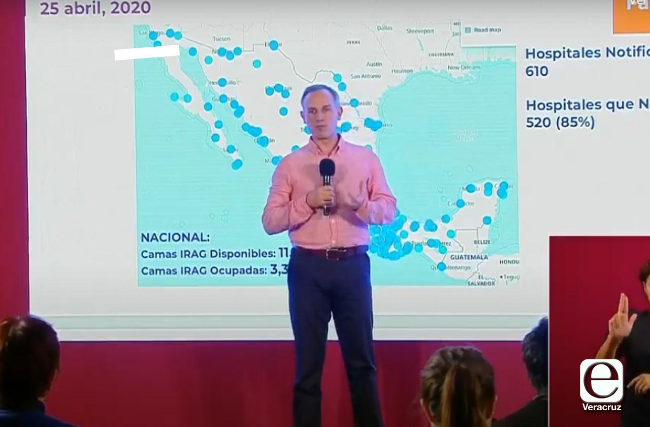 Suman 1 mil 305 muertes por covid en México, contagios rebasan 13 mil