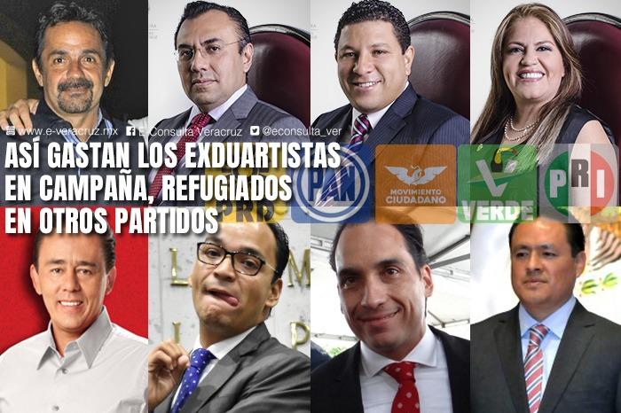 Esto han gastado exduartistas en campañas a diputados, en Veracruz