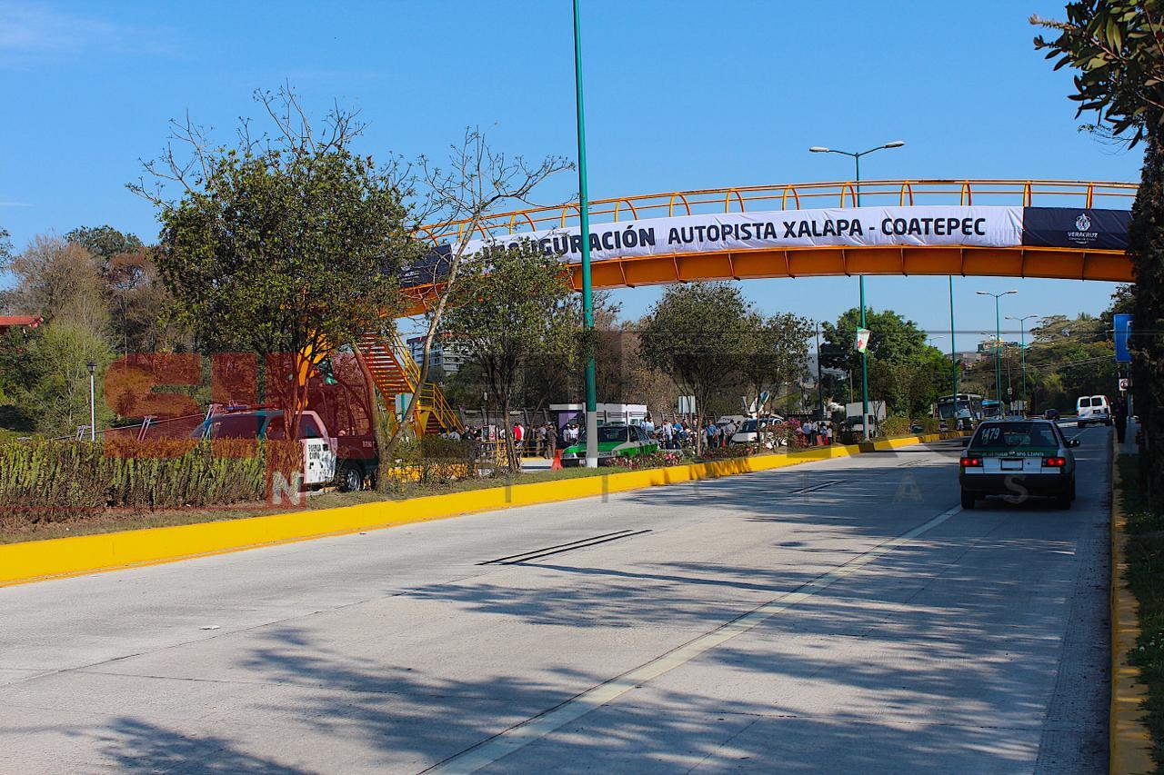 Continúan accidentes en bulevar Xalapa- Coatepec: SIOP