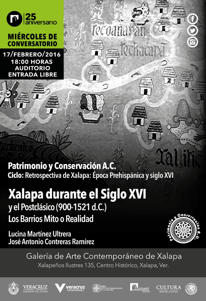 Conversarán sobre los primeros barrios de Xalapa, en la GACX