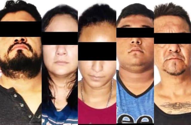 Con bombas, caen cinco presuntos miembros del CJNG en Minatitlán