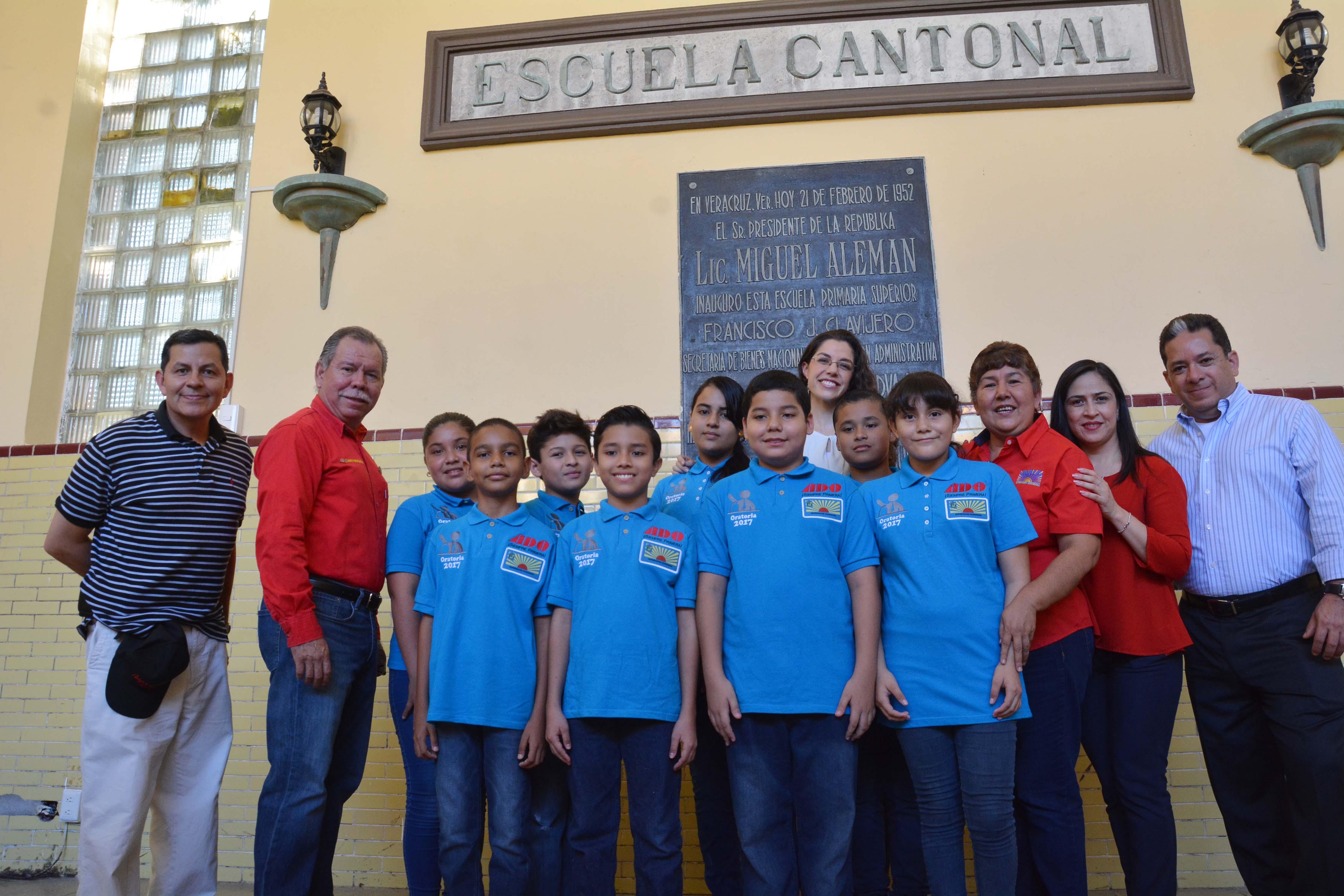 Niños de la Superación Ciudadana 2017, realizan actividades previas al viaje