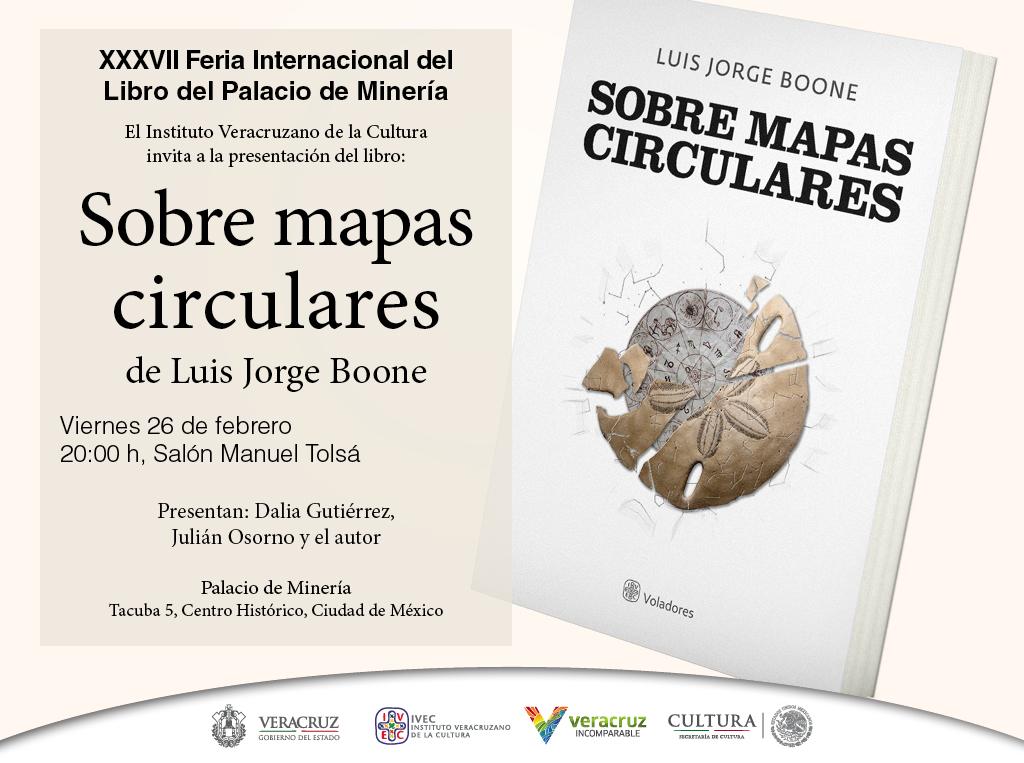 Inician presentaciones literarias del IVEC en Palacio de Minería, a partir del viernes