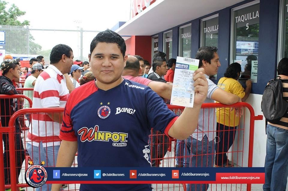 Arranca venta de boletos para el Tiburones Rojos VS Chivas