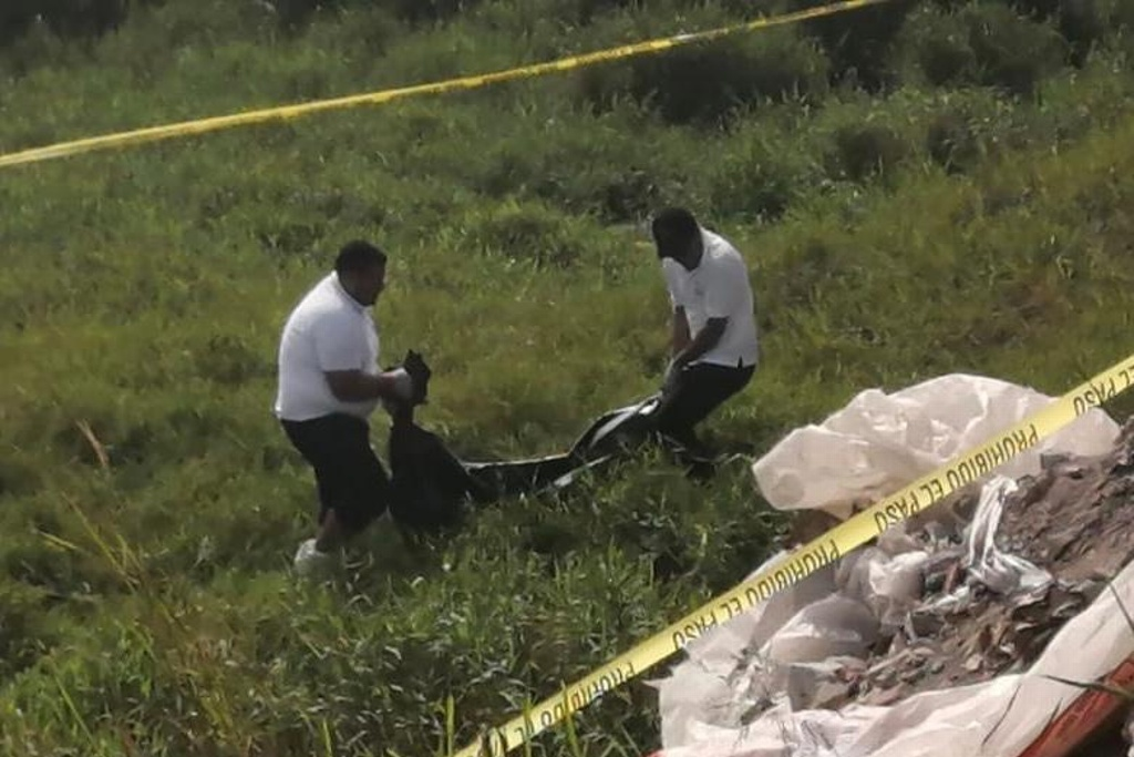 Vecinos hallan cadáver flotando en canal de Río Medio, Veracruz
