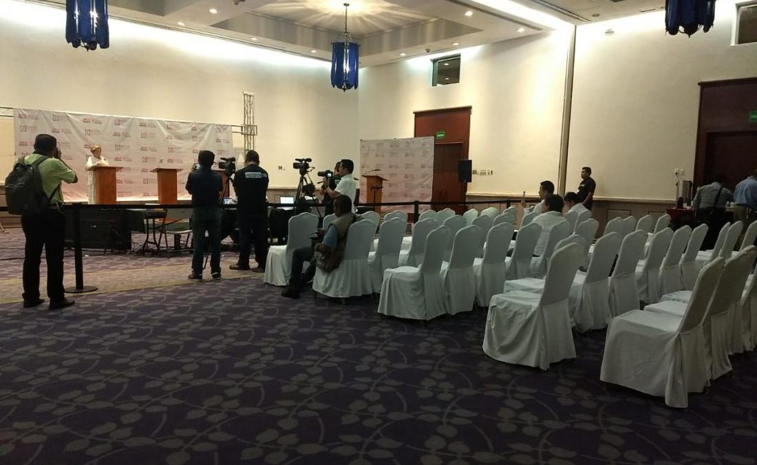 Candidatos a diputados por Boca del Río no fueron a debate; se canceló