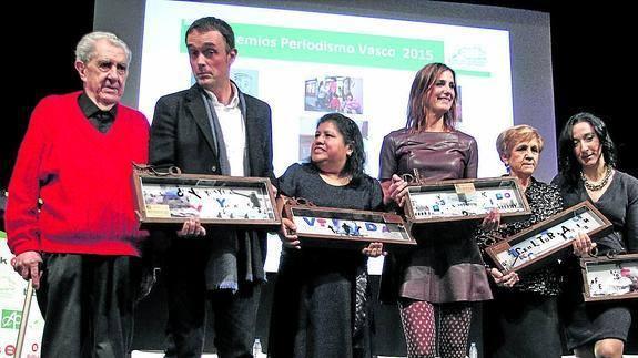 Premio periodistas vascos nos da fuerzas para seguir: Voz Alterna