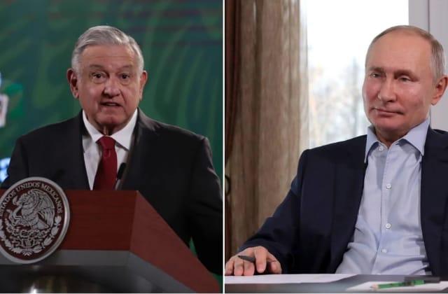 AMLO acuerda vacunas con Putin; llegarán 24 millones dosis rusas