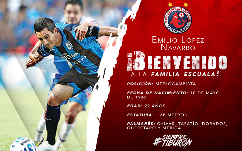 Ellos son los nuevos jugadores de los Tiburones Rojos de Veracruz