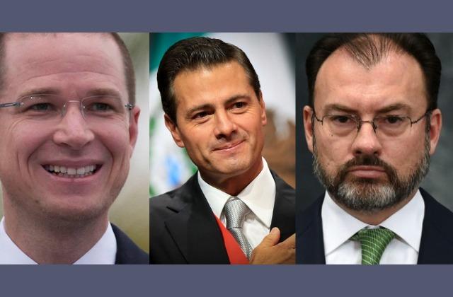 FGR va contra Peña Nieto, Anaya y Videgaray