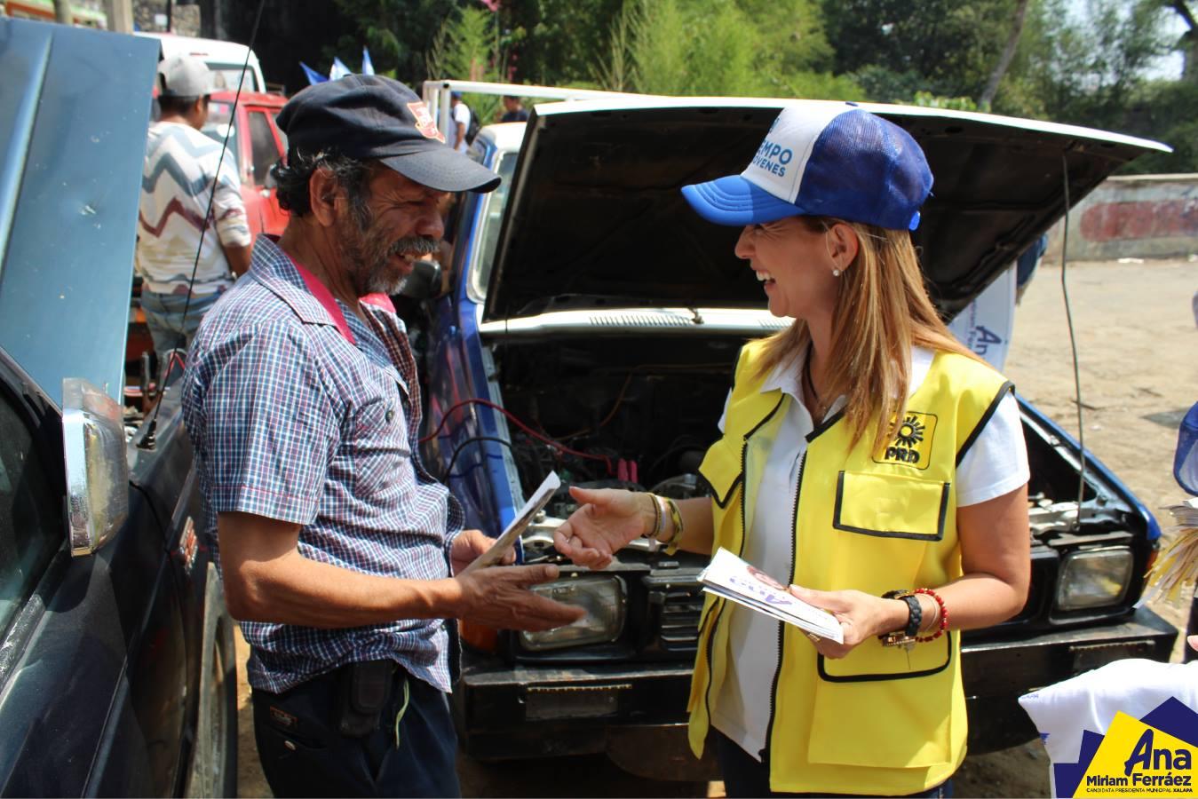 Ana Miriam Ferráez: se combatirá el rezago social en Xalapa