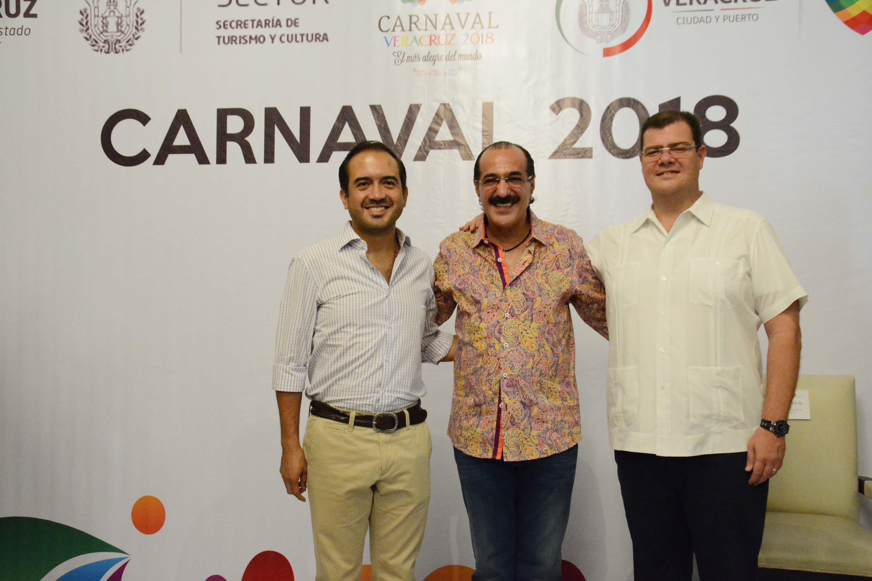 Luis Antonio Pérez Fraga, Presidente del Comité de Carnaval de Veracruz 2018
