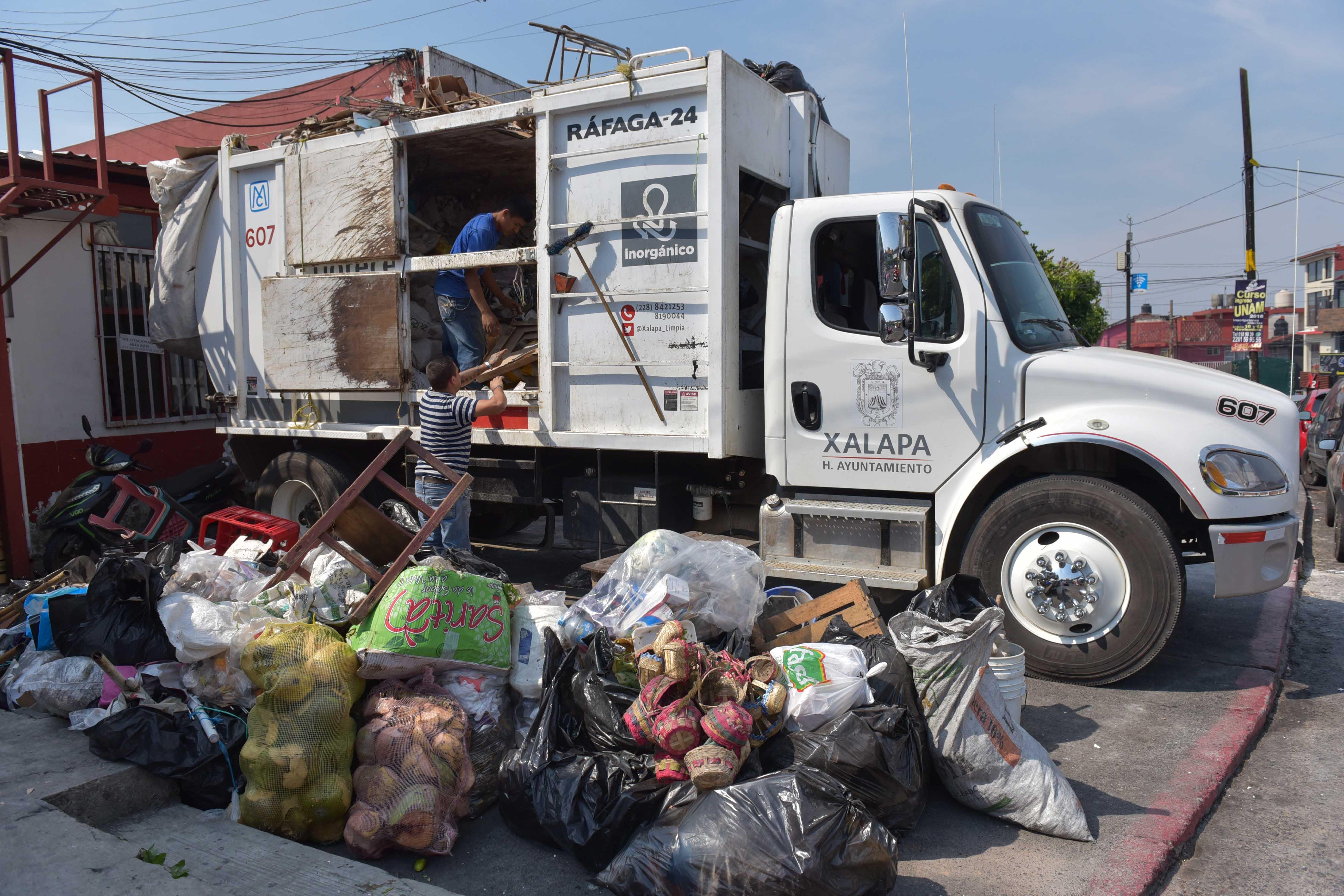 ¡Ojo Xalapa! Domingo y lunes se suspende recolección de basura