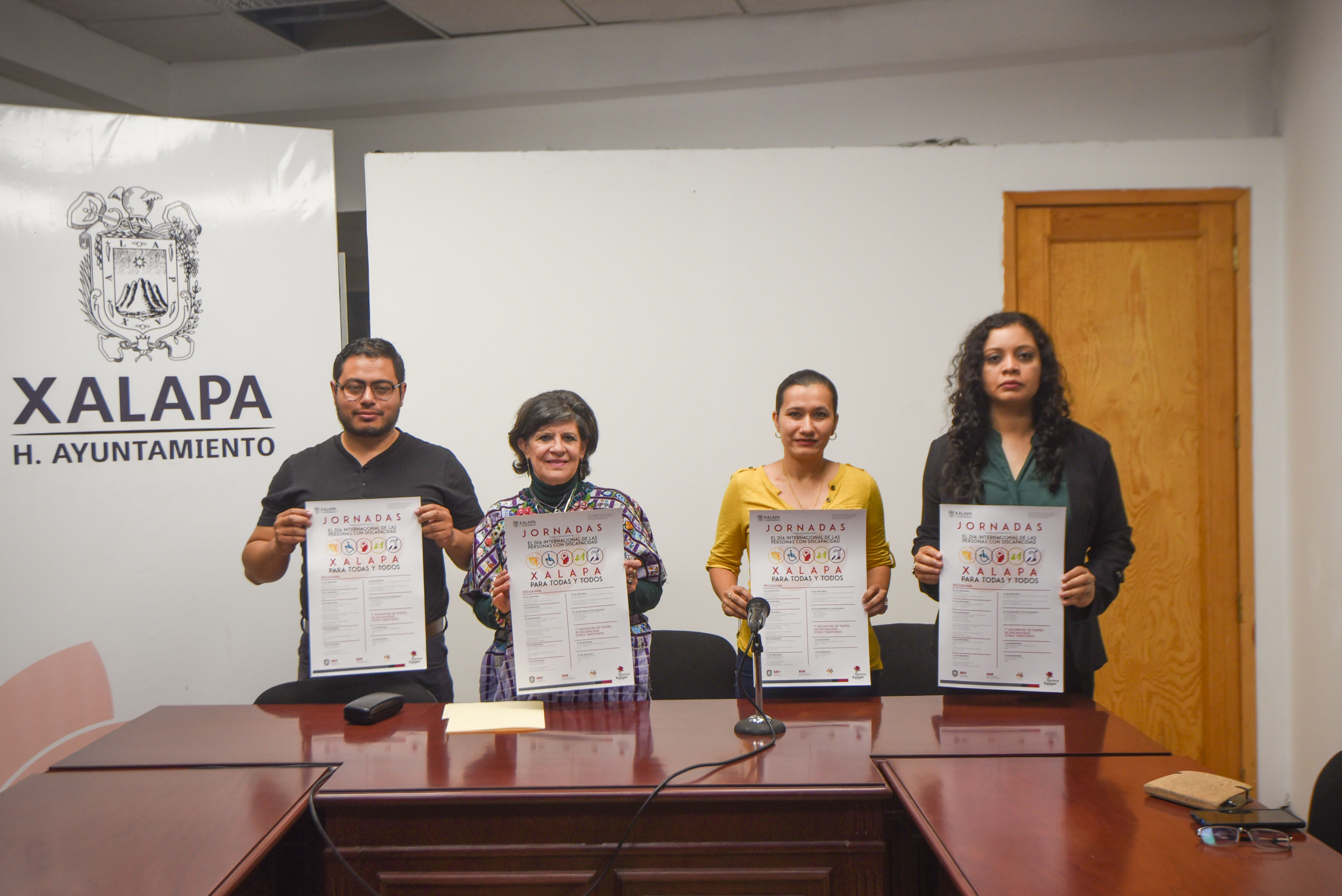 Conmemora Gobierno Municipal Día de las Personas con Discapacidad