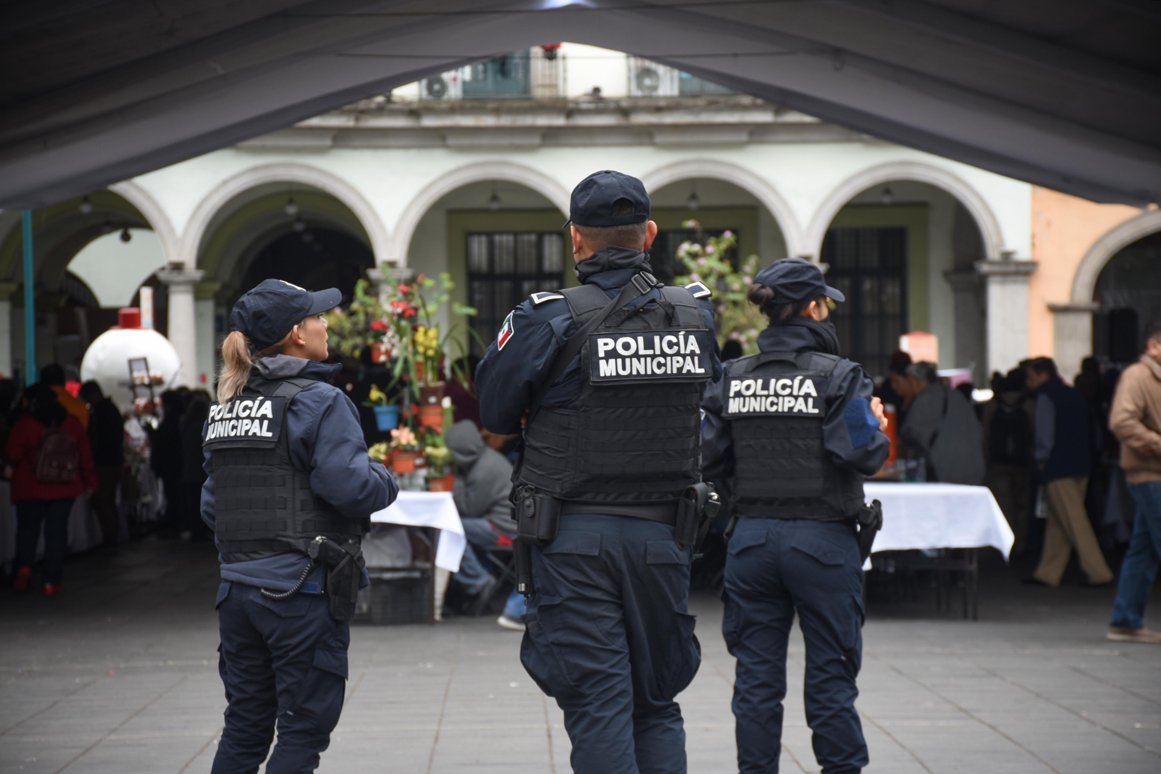 Refuerzan seguridad por temporada decembrina en Xalapa