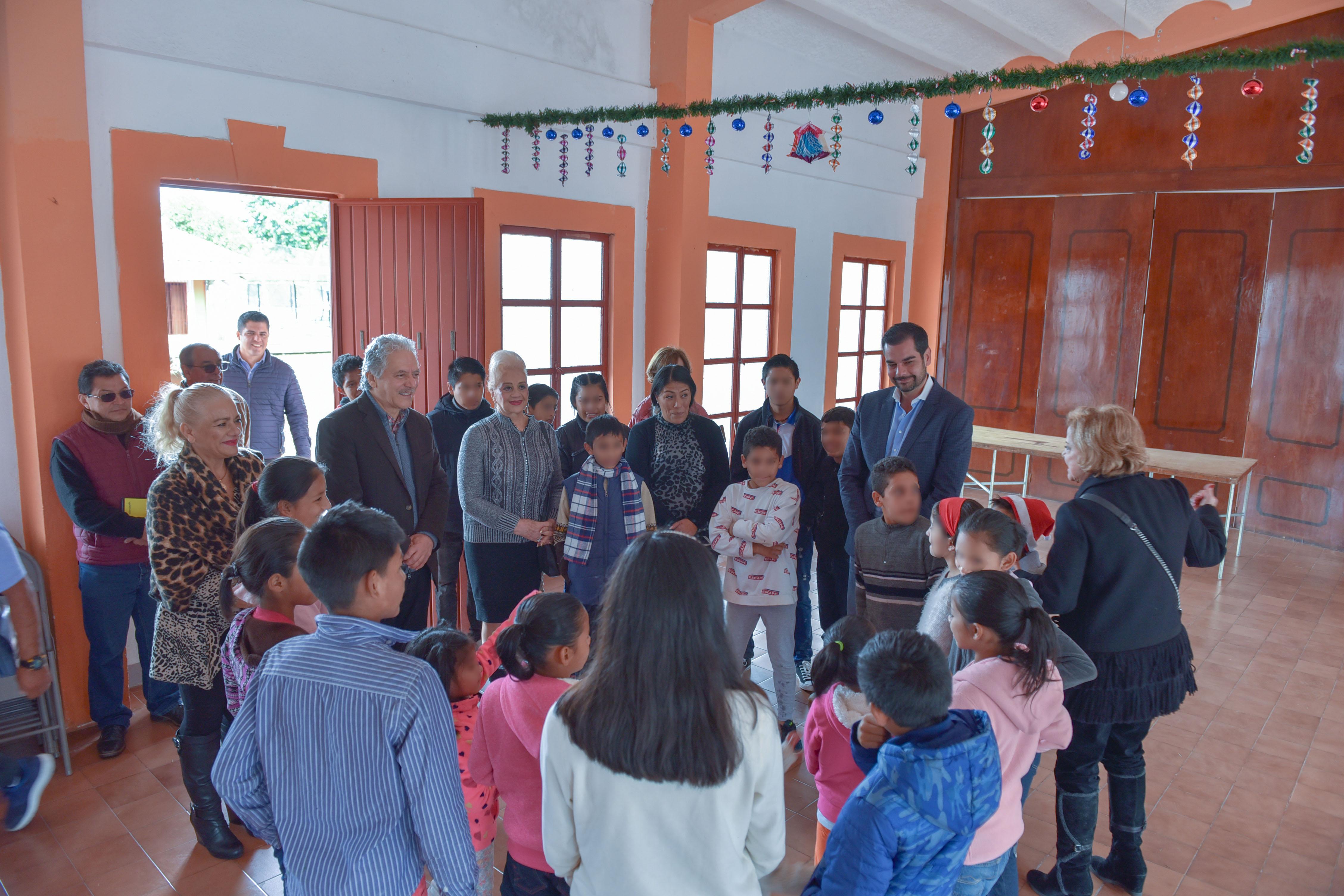 Ayuntamiento da apoyo a Casa de Niño Xalapeño