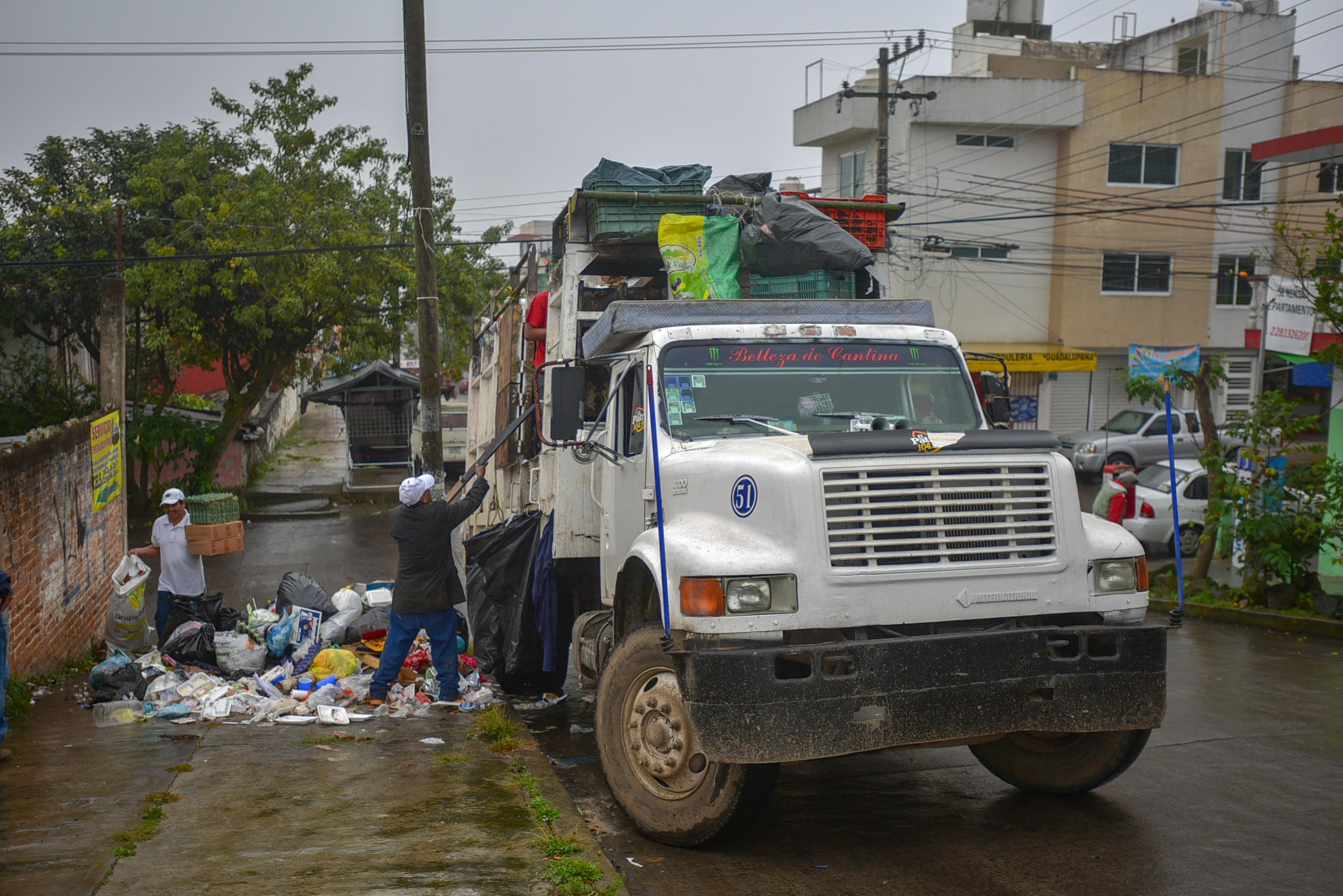 En Xalapa, se suspenderá el servicio de  recolección de residuos el 1 de enero