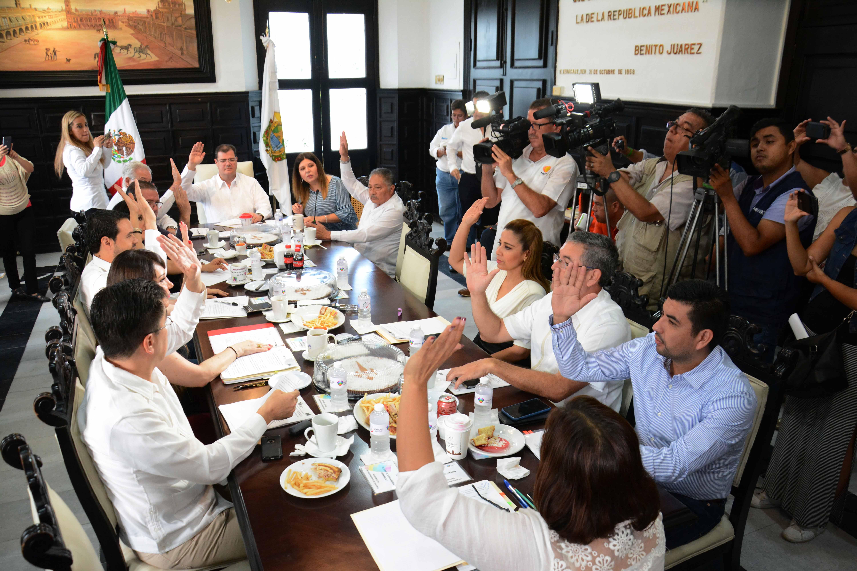 Realiza sesión Cabildo Municipal de Veracruz