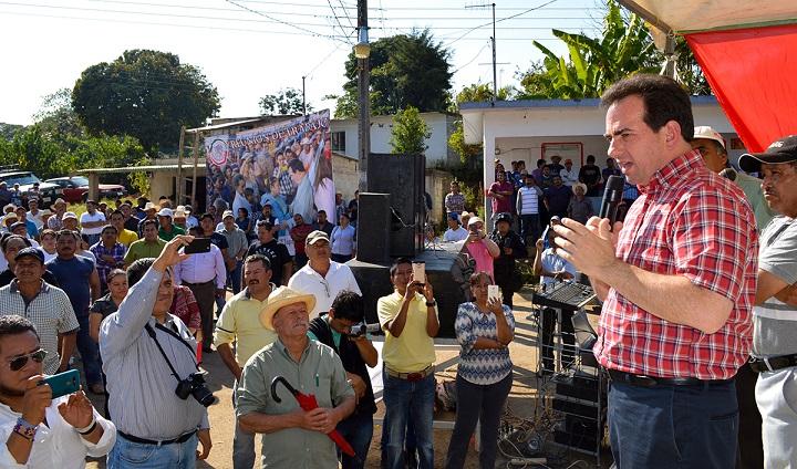 Inversión de 25 millones para conservación de carretera en Totutla, por gestión de Pepe Yunes