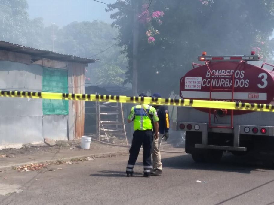 No hay lesionados por incendio en viviendas de Boca del Río