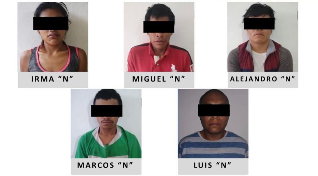 Detienen a 5 por plagio a comerciante de Nogales