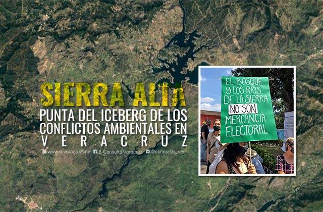 Sierra Alta abrió cloaca de conflictos ambientales en Veracruz