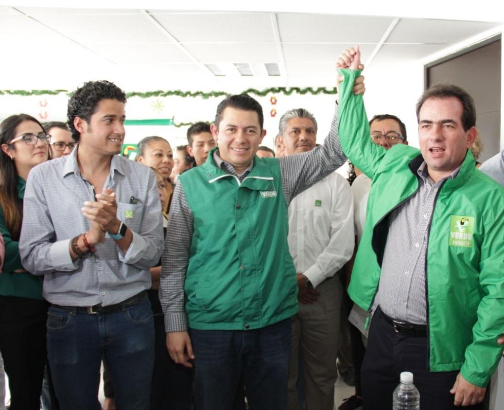 Pide Pepe Yunes a militantes del Partido Verde caminar juntos