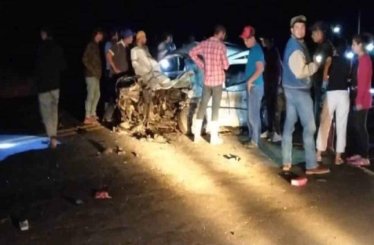 Un muerto y 2 heridos tras choque en Cuitláhuac