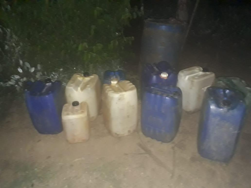 Marina asegura toma clandestina de hidrocarburos, en Acayucan