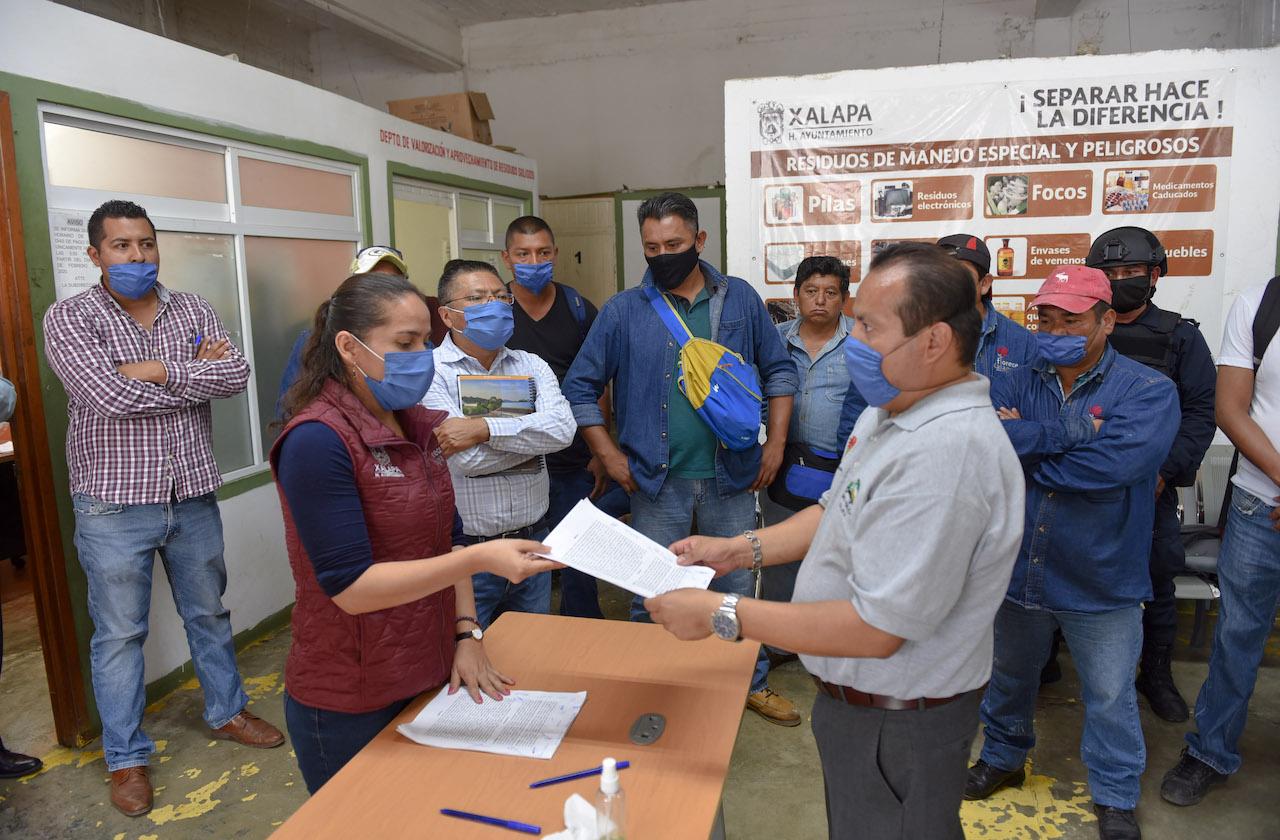 Ayuntamiento logra acuerdos con trabajadores de Limpia Pública