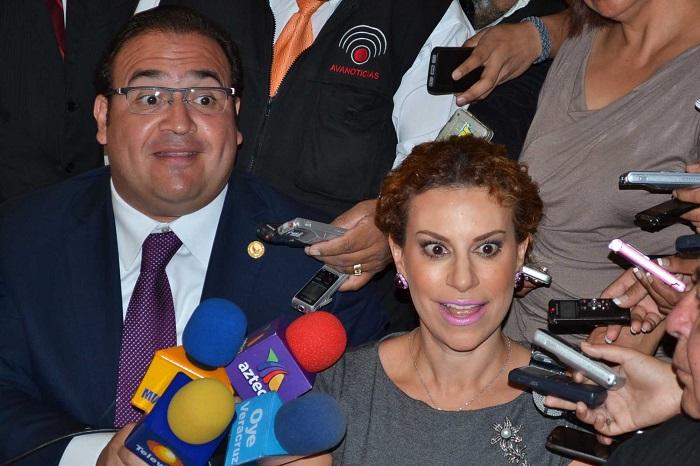 Javier Duarte y sus amigos se fueron de 'antro'