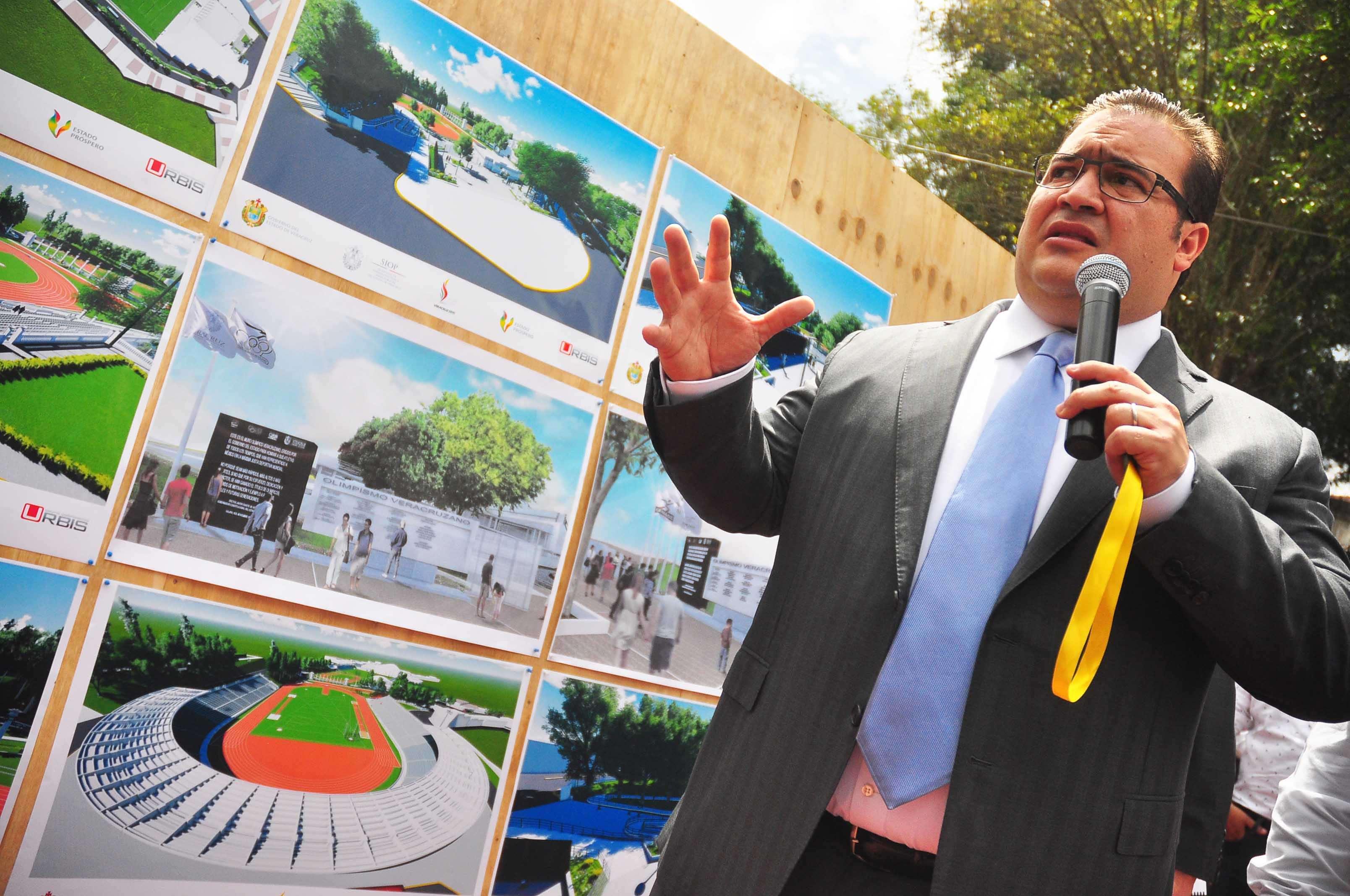 Javier Duarte niega desvío de mil 100 mdp de los Centroamericanos