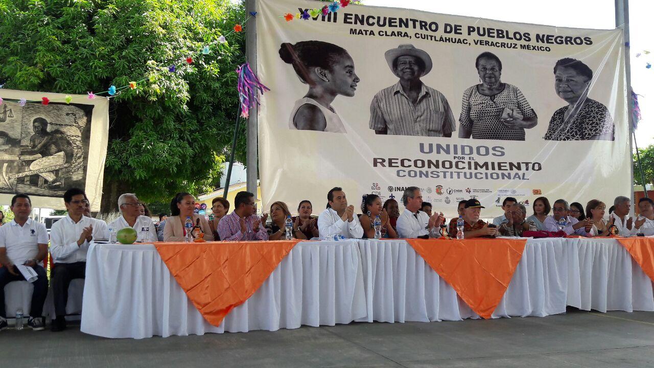 Estampas del Encuentro de Pueblos Negros en Veracruz