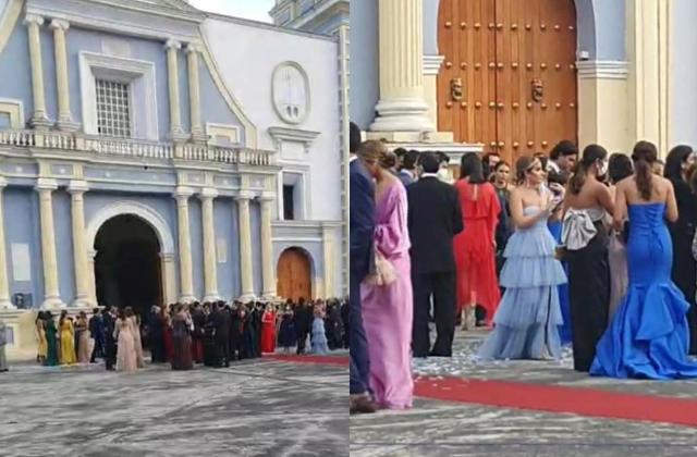 Celebran coviboda de familiar de exalcalde en Córdoba