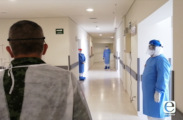 Con 20 camas abre Hospital covid en Coatza, antes Materno Infantil