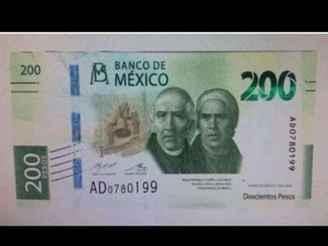 Con septiembre llega el nuevo billete de 200 pesos