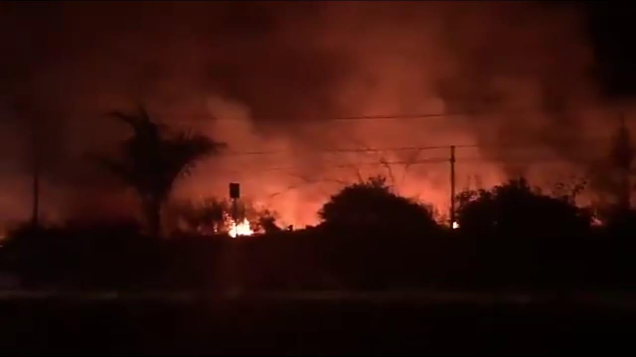 Se incendia pastizal en El Lencero, está controlado: PC