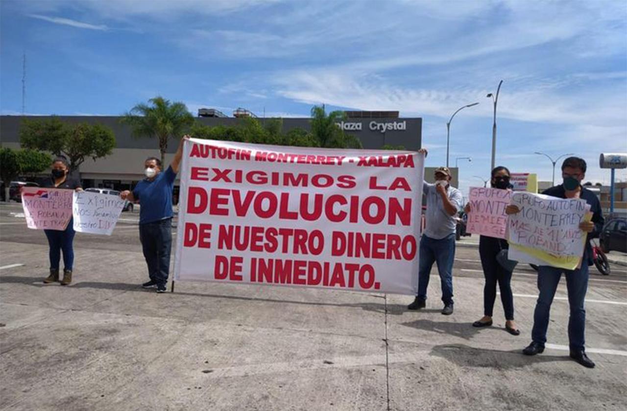 Financiera de Monterrey defrauda a más de mil xalapeños