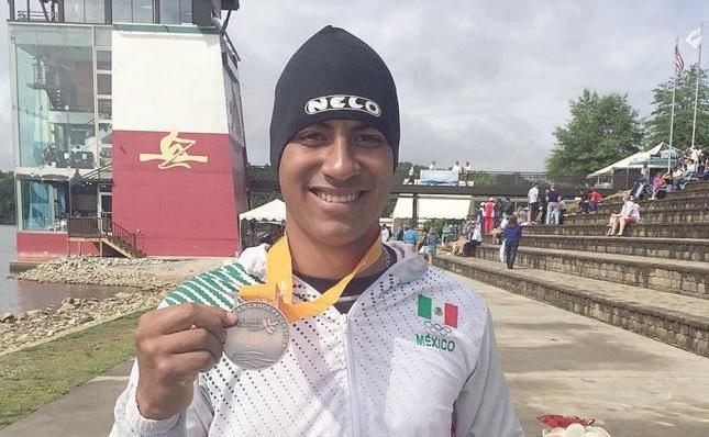 Confirman clasificación de canoista Heliud Pulido a Juegos Olímpicos