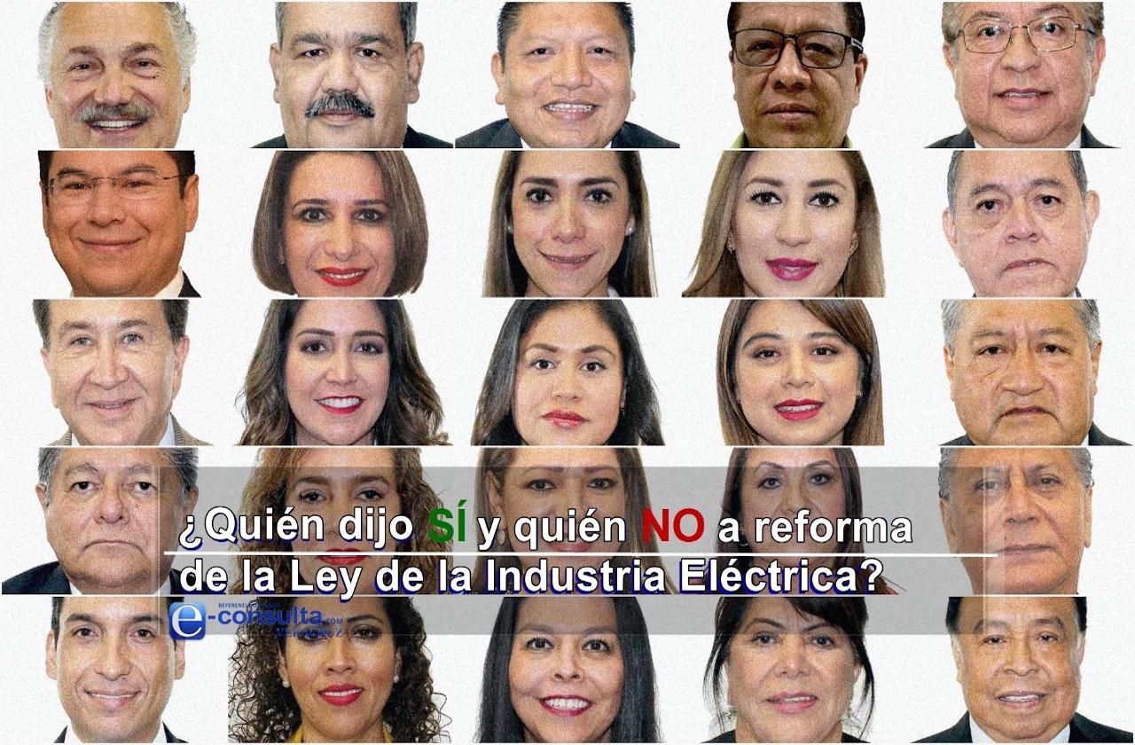 25 legisladores veracruzanos aprobaron reforma a la Ley Eléctrica