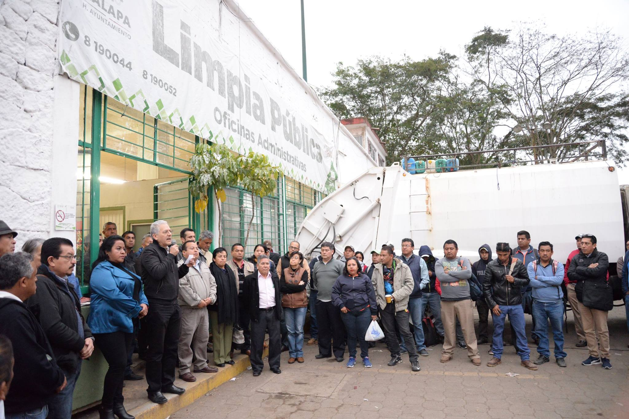 Limpia pública no se privatiza: Hipólito Rodríguez