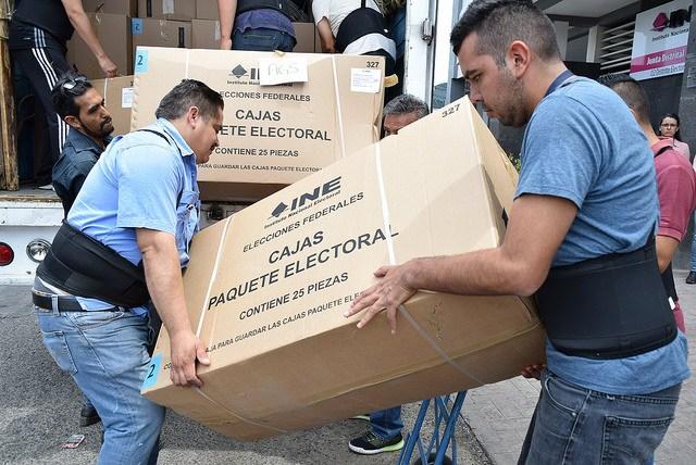 No habrá marcha atrás, SSP cuidará boletas electorales: OPLE