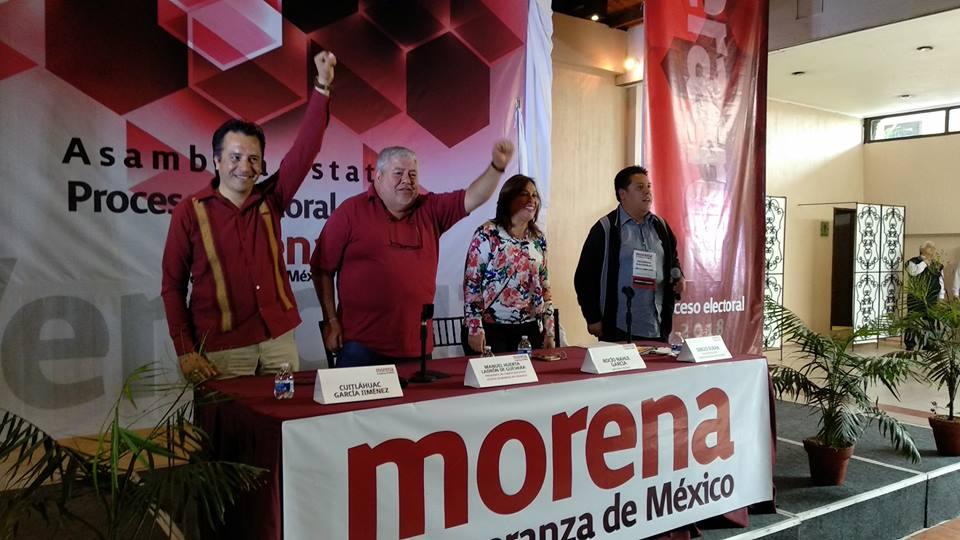 Cuitláhuac ya es candidato a Gobernador por Morena