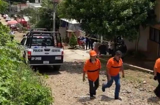 Mientras pintaba casa en Xalapa, fallece por descarga eléctrica