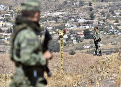 Red de corrupción por huachicoleo en Hidalgo