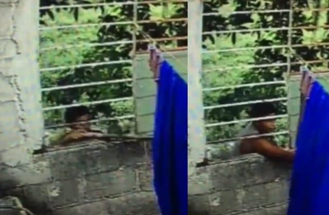 Vídeo   Captan a 'roba-calzones' en Cosoleacaque