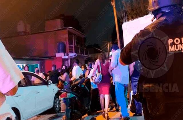 """300 invitados son desalojados de """"covifiesta"""" de XV años en Mina"""