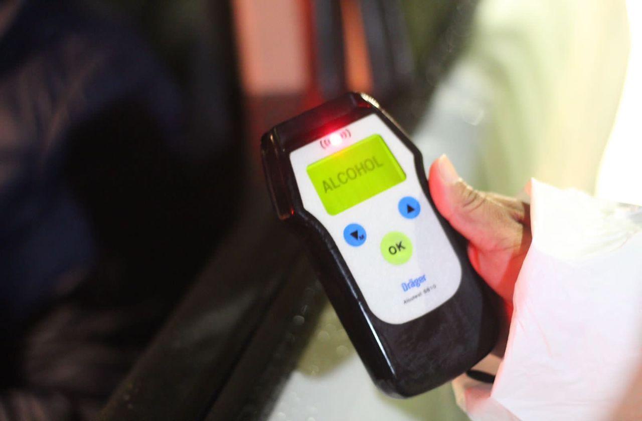 30 unidades remitidas tras primer fin de alcoholímetro, en Xalapa
